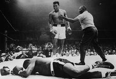 Muhammed Ali v Sonny Liston - 1965    (Sports Illustrated / Neil Leifer)