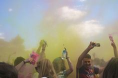 Holi international festival in Paris to raise funds for Syria