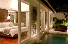 Luxury One Bedroom Suite Villa Private Pool Hospitality Interior ...