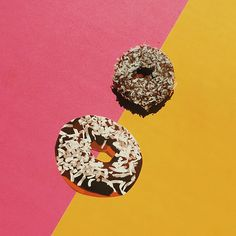 The chocolate coconut Doughnote, perfect for that friend who does things her own way, and always stands out.