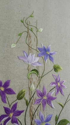 Wonderful Ribbon Embroidery Flowers by Hand Ideas. Enchanting Ribbon Embroidery Flowers by Hand Ideas. Sashiko Embroidery, Paper Embroidery, Embroidery Needles, Japanese Embroidery, Hand Embroidery Stitches, Silk Ribbon Embroidery, Hand Embroidery Designs, Embroidery Thread, Machine Embroidery