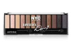 Demi Lovato designed this palette, which includes just about every shade you'd ever need to create a natural or smoky eye look. The lighter shades even double as highlighters, and the darker ones can be used as eyeliners when wet. New York Color Lovatics By Demi, $6.99, available at Target. #refinery29 http://www.refinery29.com/new-drugstore-makeup-products#slide-2