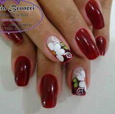 Nails & Co, Toe Nails, Simple Acrylic Nails, Magic Nails, Girls Nails, Finger, Gel Nail Art, Flower Nails, Gorgeous Nails