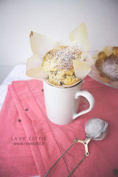 Muffin facili e veloci senza fruste: con yogurt farina integrale e pochissimi grassi. Senza zucchero e con versione vegan <3