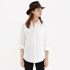 7e100d3123dfe Madewell Oversized Button-Down Shirt on shopstyle.com