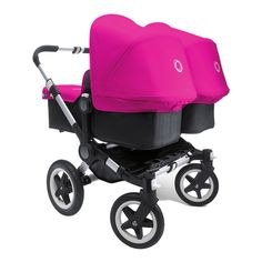 Coolest double stroller ever.. the Bugaboo Donkey.