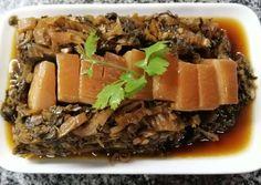 สูตร หมูสามชั้นตุ๋นผักตากแห้ง (มุ่ยฉ่อยเคาหยก) โดย สิทธิพงศ์ - Cookpad Thai Cooking, Beef, Recipes, Food, Meat, Rezepte, Food Recipes, Ox, Ground Beef