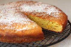 Bitter Orange Spanish cake made with cuisine companion