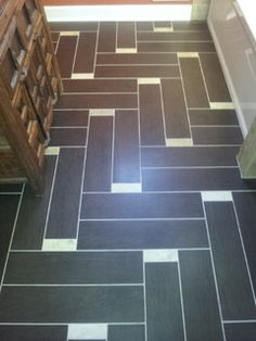 Whitefish Bay floor tile - Modern - Bathroom - milwaukee - by LaBonte Construction