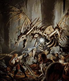 Dungeons and Dragons: la rivoluzione che ha cambiato per sempre l'immaginario fantasy Sword And Sorcery, Dungeons And Dragons, Sci Fi, Lion Sculpture, Statue, Painting, Art, Art Background, Science Fiction