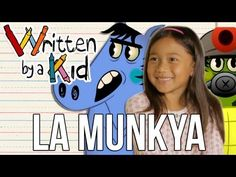 "This little girl and her story is SO CUTE!!!!!  ""La Munkya"" - Written By A Kid Ep 3 by Ghostbot Animation Studios"