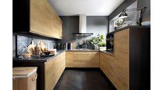 Family Line - Sole House Design, New Homes, Decor, Kitchen, Kitchen Cabinet Colors, Cabinet, Modern Family, Home Decor, Oak Kitchen