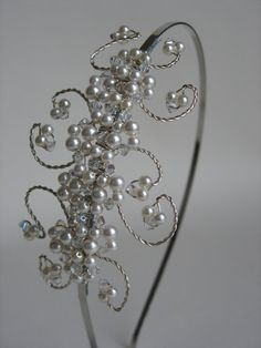 Hey, I found this really awesome Etsy listing at https://www.etsy.com/listing/217021865/wedding-headband-bridal-hair-piece-tiara