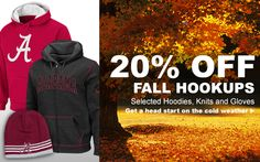 Two Days Only! 20% off Selected Fall Hookups with Code. on DealsAlbum.com