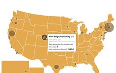 Mapping The Craft Beer Industry in America