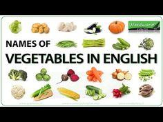 The names of vegetables in English accompanied by a photo of each one. We give the American English name of each vegetable as well as the British English nam. English Vocabulary List, English Grammar Quiz, Italian Vocabulary, Food Vocabulary, English Vocabulary Words, British English, American English, Woodward English, Name Of Vegetables