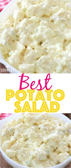 The Best Potato Salad recipe from The Country Cook