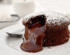 Chocolate Molten Cake  #chocolate #tuzubiberi #cake