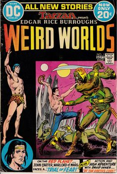Weird Worlds 1 September 1972 Issue  DC Comics  by ViewObscura