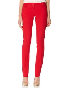 Red red red pants