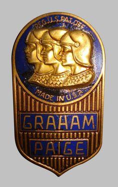 Graham Paige Car Badge