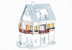 Uitbreidingsset A voor moderne villa art. 4279