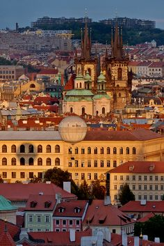 Prague, Czech Republic =Home. No seriously a quarter of my ancestors came from Bohemia particularly the Prague area. Places Around The World, Oh The Places You'll Go, Travel Around The World, Places To Travel, Places To Visit, Around The Worlds, Wonderful Places, Beautiful Places, Budapest