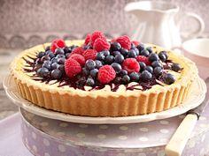 himbeer-heidelbeer-tarte