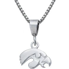 Collegiate University of Iowa Hawkeyes Necklace