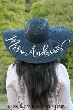 0becd57e4229a Personalized Beach Hat