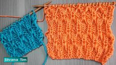 "Patrones modernos tejido a dos agujas: Punto ""ABRIL"" Fantasía en Relieve... Crochet Baby, Knit Crochet, Knitting Videos, Knitted Hats, Pattern, Youtube, Women, Fashion Patterns, Weaving Patterns"