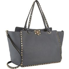 Studded tote   Valentino Beautiful Bags, Beautiful Things, My Bags, Purses And Bags, New Handbags, Best Bags, New Bag, Clothes Horse, Tote Purse