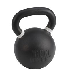 Heavy CrossFit Kettlebells with matte black powder coat finish, color banded handles, large numbering, machined base and warranty. Crossfit Equipment, No Equipment Workout, Military Workout, Kettlebells, Garage Gym, Powder Coating, Matte Black, Gym Workouts, Kettlebell
