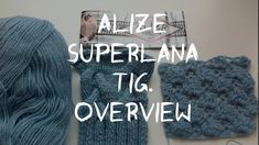 Отзыв о пряже Alize Superlana TIG