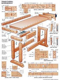 Töölaud #1775 DIY Workbench - Workshop Solutions Plans, Tips and Tricks