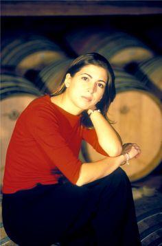 Valentina Argiolas new generation winemaker very good generation!!!!!!
