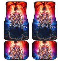 stranger things 3 car mats Car Mats, Car Floor Mats, 3 Movie, Back Pieces, Beauty And The Beast, Daily Wear, Stranger Things, Fathers Day Gifts, Floors