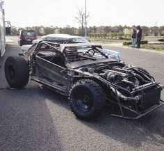 1991 Nissan 240sx custom road warrior Homemade Go Kart, Buggy, Death Race, Bug Out Vehicle, Off Road, Fast Cars, Custom Cars, Concept Cars, Cars And Motorcycles