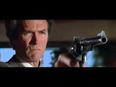 """Clint Eastwood as """"Dirty Harry"""" in Sudden Impact and the now famous line, """"Go ahead, make my day. Clint Eastwood, Eastwood Movies, Saint Yves, Make My Day, How To Make, Sudden Impact, Michael Moore, Favorite Movie Quotes, Famous Movies"""