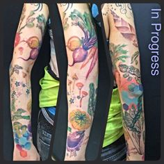 Vegetable Tattoos Veggie, vegetable, radish