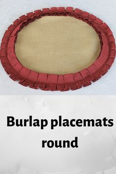 placemats round burlap with ruffles table decor farmhouse decor Easter Tablecloth, Tablecloth Size Chart, Christmas Table Cloth, Kids Curtains, Light Effect, Table Linens, Home Decor Items