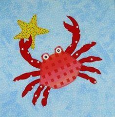 Sea Creature Appliques