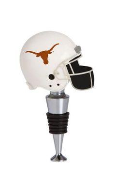 Wine Stoppers - Texas Longhorns Football Helmet Wine Bottle Stopper >>> Visit the image link more details.