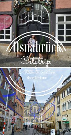 So schön ist Deutschland. Städtereise nach Osnabrück - Citytrip. Stadt des Westfälischen Friedens mit Altstadt, Marienkirchturm und Zoo Osnabrück, Ausgetipps & mehr - jetzt auf meinem Blog. #osnabrück
