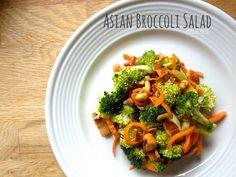 Paleo Asian Broccoli Salad on www.PopularPaleo.com