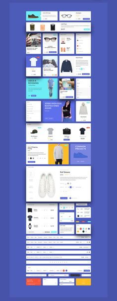 Patagonia UI Kit on Web Design Served