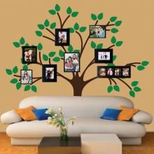 How cool would this reusable tree decal be for a photo booth backdrop?