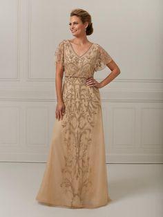 Christina Wu Elegance | Ella Park Bridal Evening Gowns With Sleeves, Evening Dresses, Christina Wu, Mom Dress, Dress Silhouette, Designer Gowns, Formal Gowns, Bridal Boutique, Flutter Sleeve