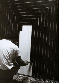 Frank Stella, 1958