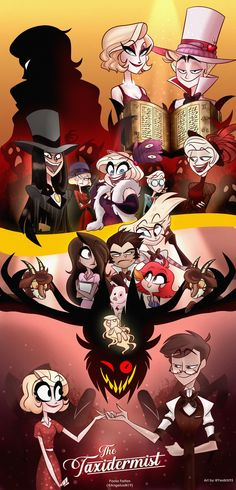Hazbin Hotel is a comedy/musical adult animated series created by Vivienne Medrano. Monster Hotel, Hazbin Hotel Angel Dust, H Hotel, Hazbin Hotel Husk, Villainous Cartoon, Hotel Trivago, Vivziepop Hazbin Hotel, The Villain, Animes Wallpapers